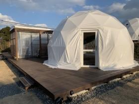 ドーム型テント 外観