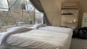 ドーム型テント 室内