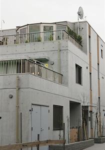 施工例40 屋上に取り付けた珍しいタイプ