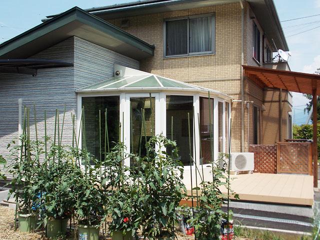 断熱パネル仕様の悠Uサンルーム【長野県】